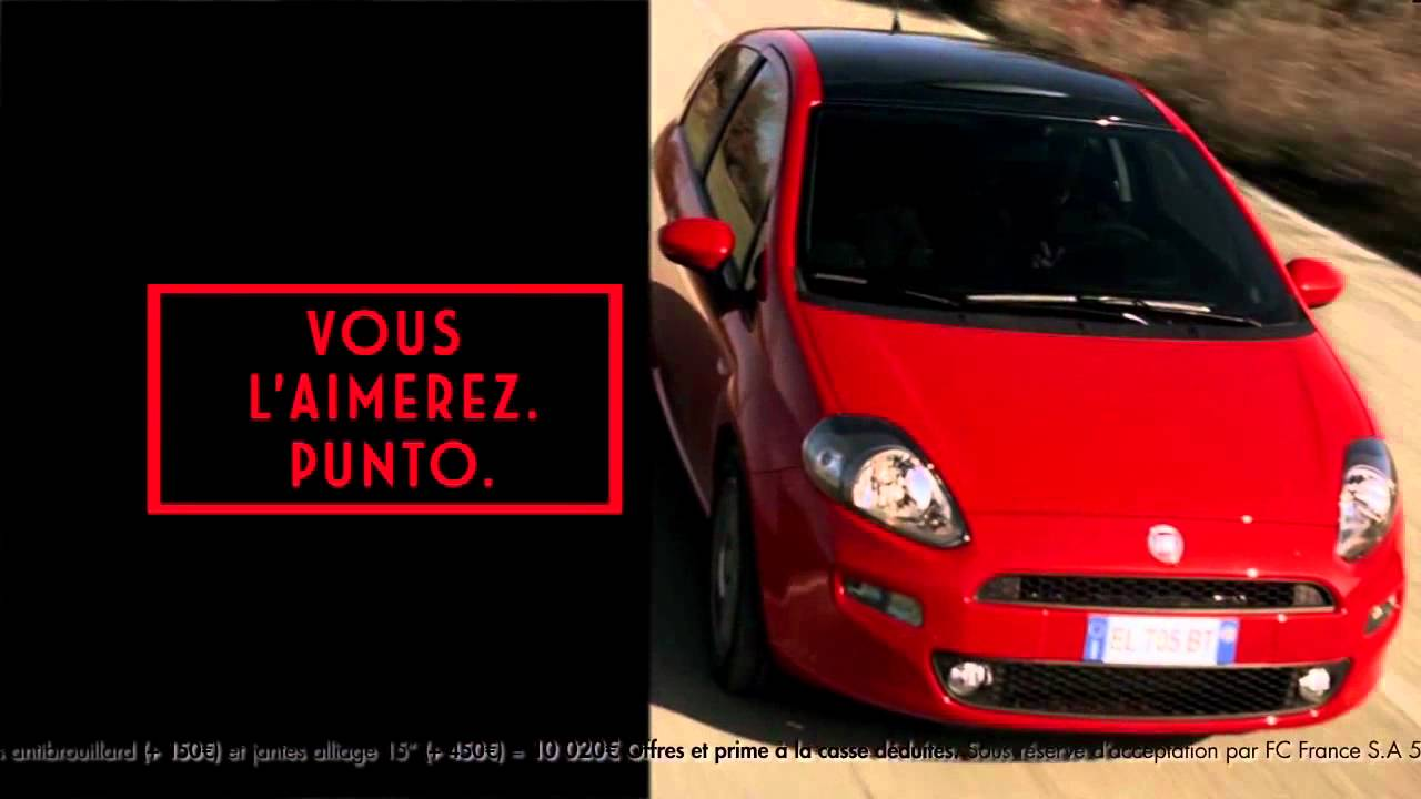 autosital spot de pub nouvelle fiat punto 2012 youtube. Black Bedroom Furniture Sets. Home Design Ideas