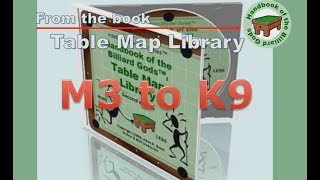 Table Map Library (video) - M3 to K9