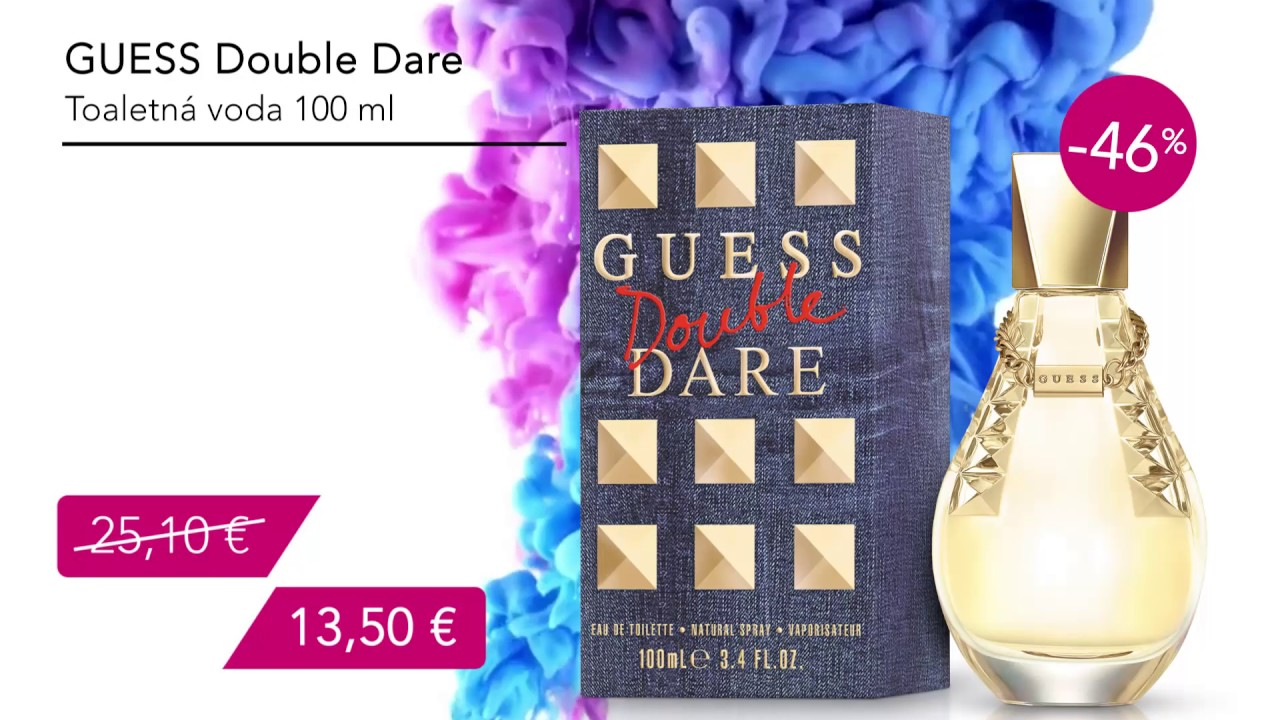 Ocbedx 100 Voda Guess Dare Double Ml Toaletná 2WEHYD9I