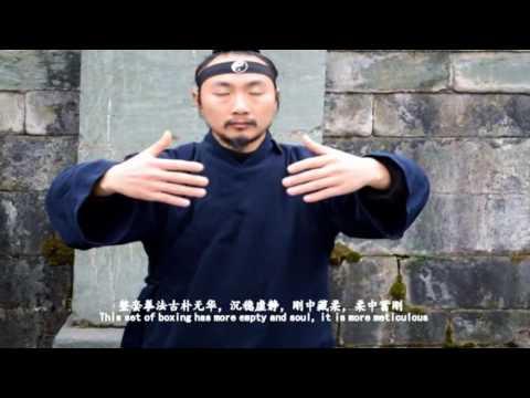 Wu Dang Gong Fu 9【explain】 Wu Dang Mi Chuan Tai Ji Quan 武当秘传太极拳(解说片) Xu Wei Han 许微含