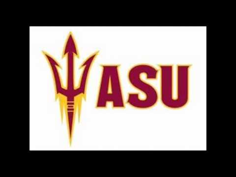 Arizona State Fight Song Maroon and Gold