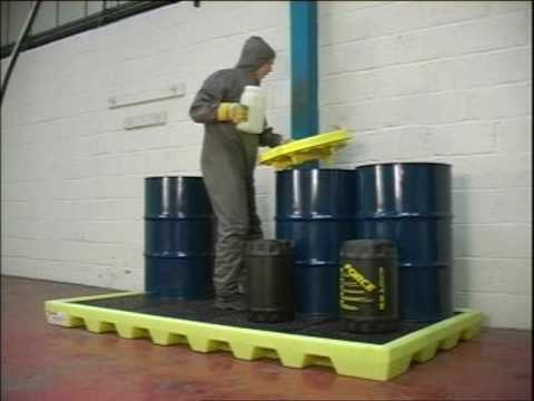 ENPAC Spill Containment Products - Video