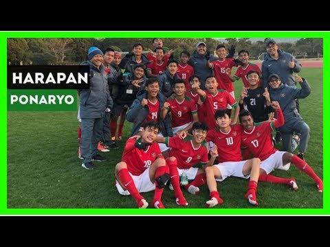 Berita Terbaru Video Harapan Ponaryo Astaman Untuk Timnas