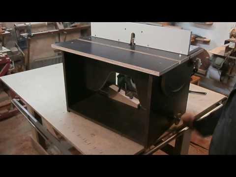 Универсальный фрезерный стол. Router table.