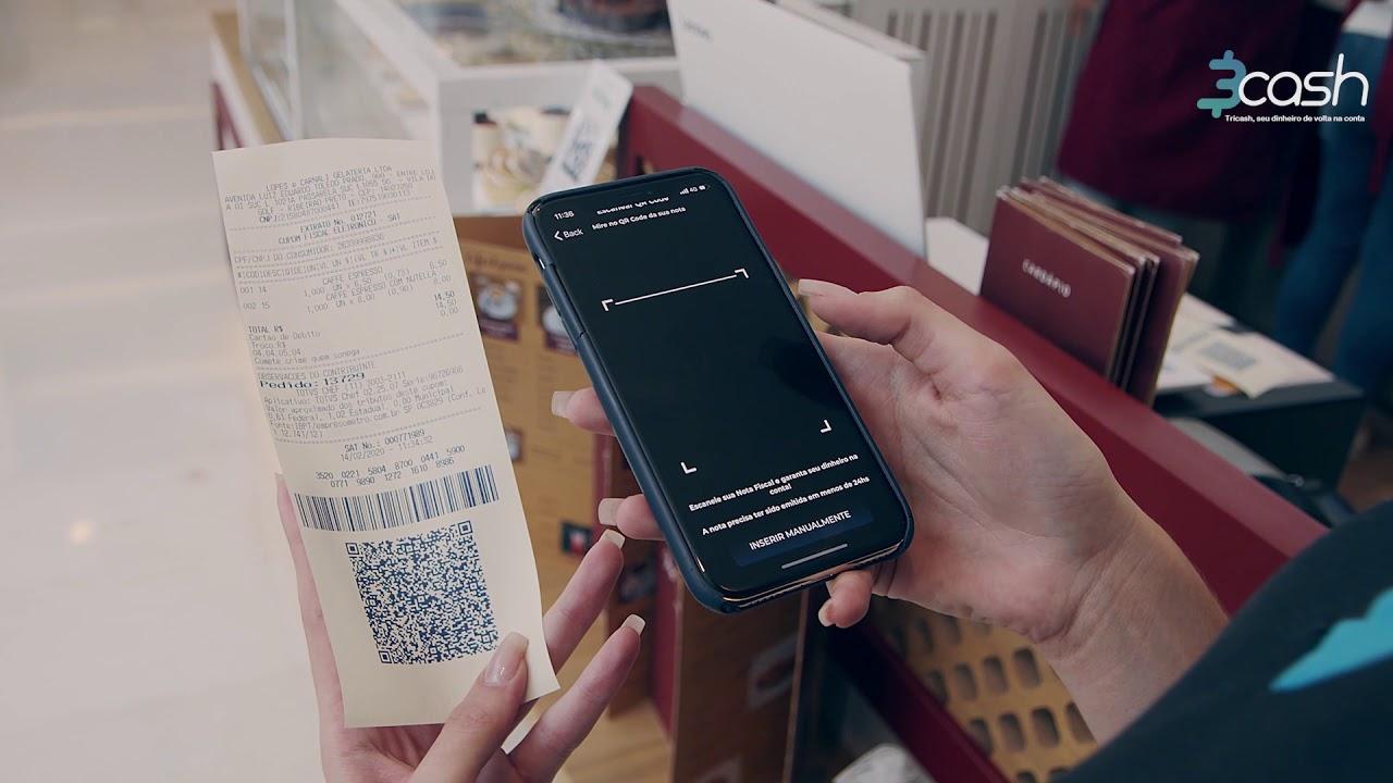 Como gerar seu cashback com o App 3cash