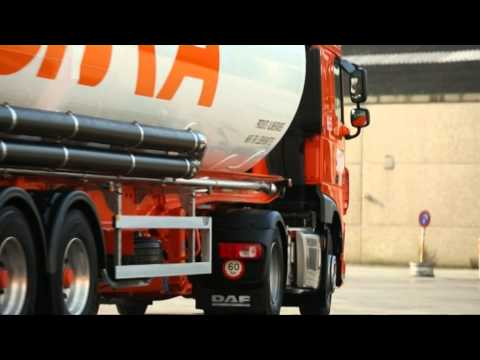 TRANSPORT.TV 28: 5 % brandstofbesparing dankzij DAF Transport Efficiency
