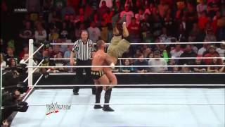 CM Punk piledriver to John Cena - 2-25-2013 RAW