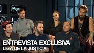 Exclusivo: Entrevista al elenco de Liga de la Justicia
