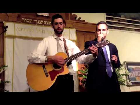 Ari Goldwag and Rabbi Avi Stewart Shomer Yisrael