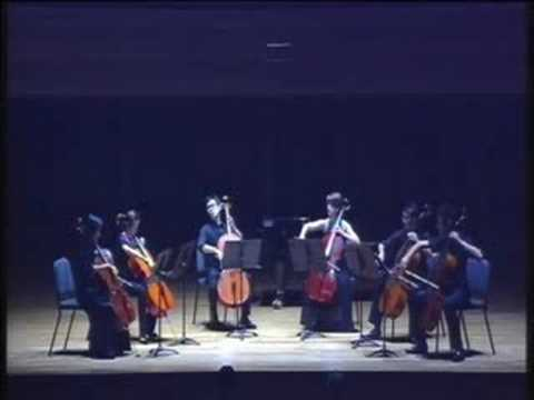 Barber Adagio for Strings  YST Cello Choir