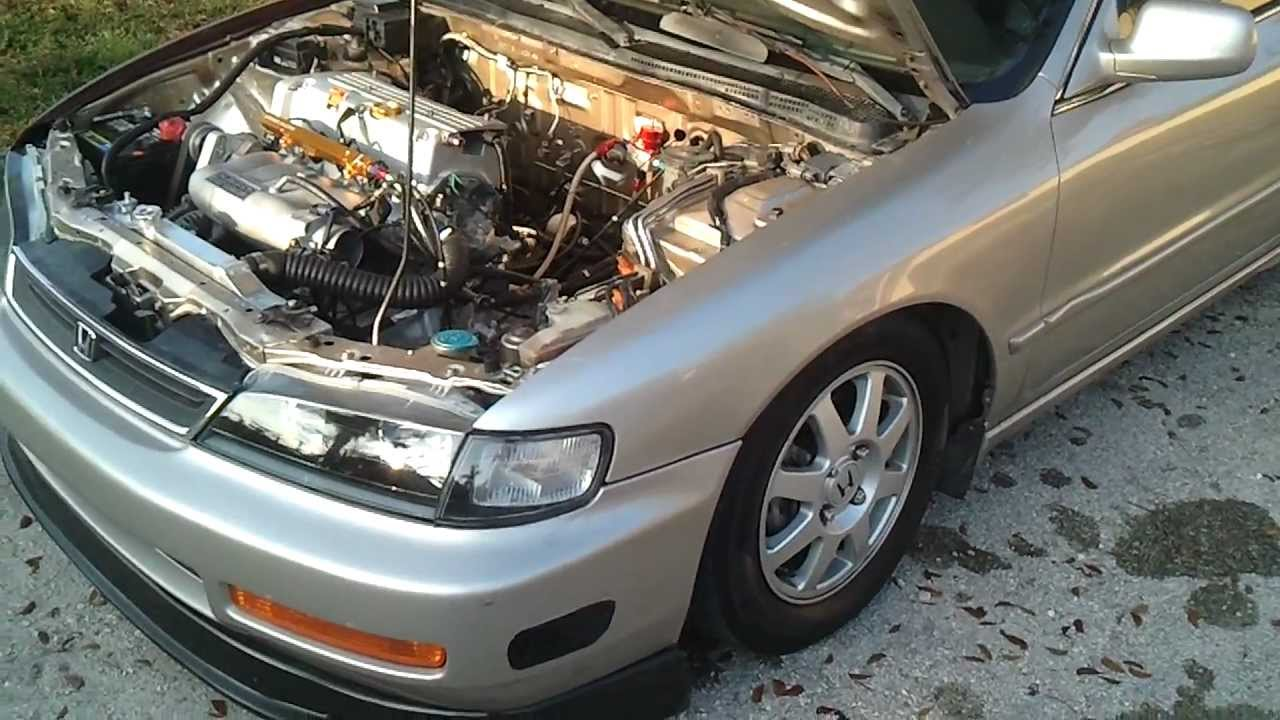 Accord Cd With K24 Swap Youtube