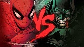 Homem-aranha Vs. Batman  Duelo De Tit�s Part. Tauz