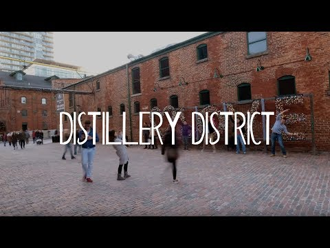 TORONTO, ONTARIO: Our FAVORITE Spots In The Distillery District!     Ep. 6