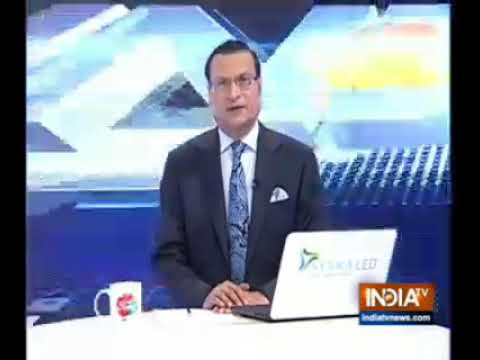 Heart transplant coverage by INDIATV fame Rajat Sharma