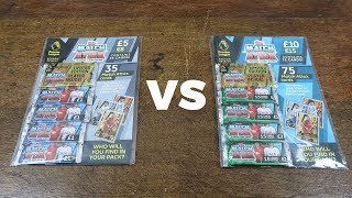 MEGA MULTIPACK vs. STANDARD MULTIPACK! Match Attax 2018/19