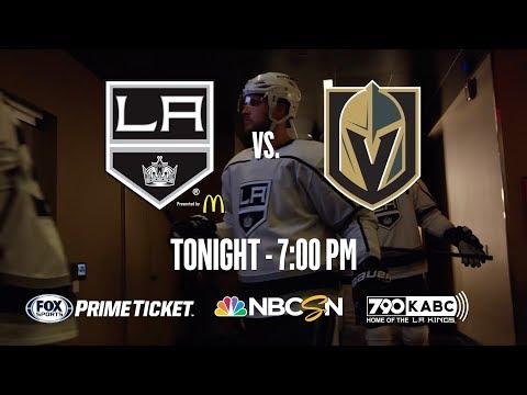 LA Kings vs. Vegas - Game 2