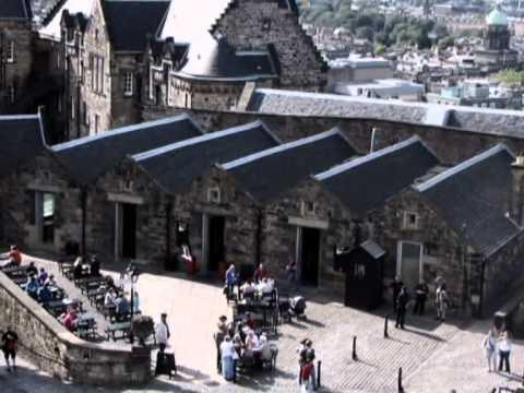 Castillo de Edimburgo en Escocia - Edinburgh Castle at Scotland