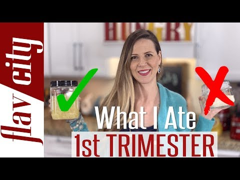 What I Ate In The First Trimester - Healthy Pregnancy Recipes & Diet Tips