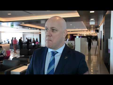 Air NZ CEO Christopher Luxon