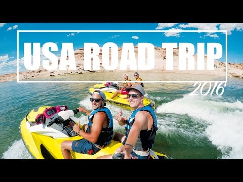 AWESOME USA ROAD TRIP 2016 | 4 FRIENDS 1 ADVENTURE | GOPRO