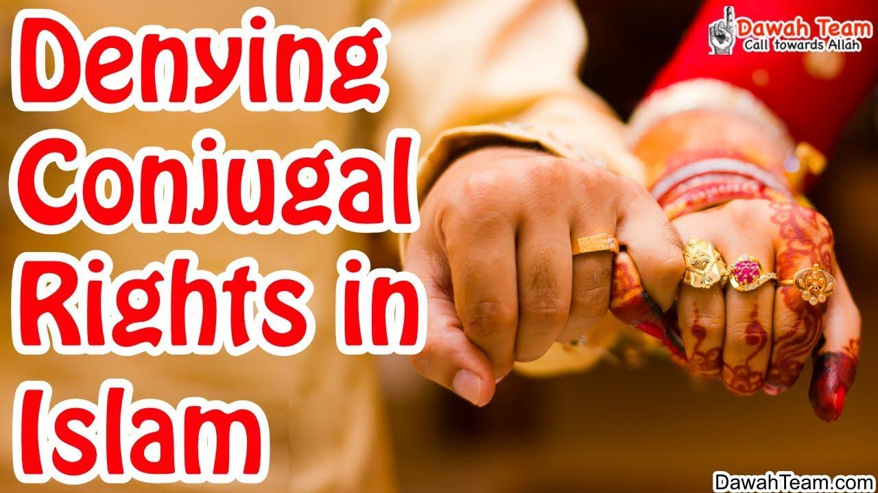 conjugal rights in islam