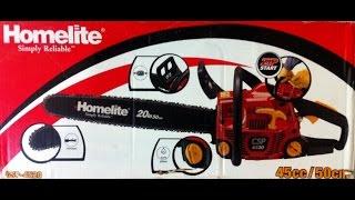 Обзор бензопилы Homelite(Хомлайт) CSP-4520