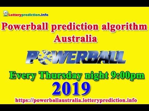 Powerball Prediction Algorithm Australia 2019