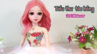 Doll repaint 60cm- Trang điểm, làm tóc giả, may đầm công chúa Ami DIY