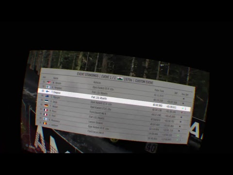 Dirt Rally VR+co-driver