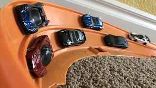 Hot Wheels Super Car Tournament - Epic Curve Racing!