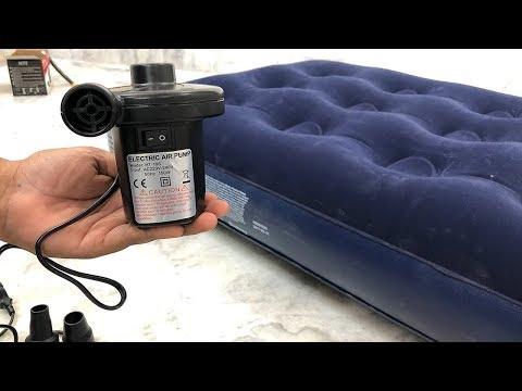 Electric Air Bed Pump Demo | Air Mattress Pump