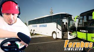 PRACUJĘ TERAZ DLA SINDBAD'A! *Flixbus mnie zwolnił* 🚌 Fernbus Simulator screenshot 2