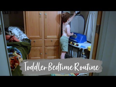 Toddler Nighttime Routine | Bedtime Routine of a 4 Year Old