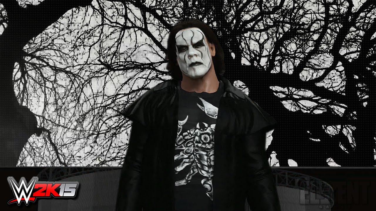 WWE 2K15 PC Mods : Sting Entrance Video (2015) - YouTube