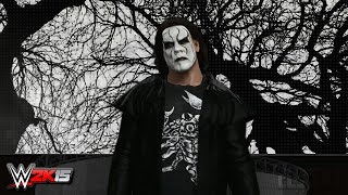 WWE 2K15 PC Mods : Sting Entrance Video (2015)