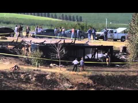 Raw video from the Zillah fire scene