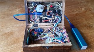 Mind blowing arduino puzzle box (with electronics)