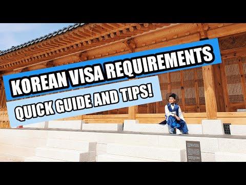 Korean VISA Requirements For Filipino Travellers