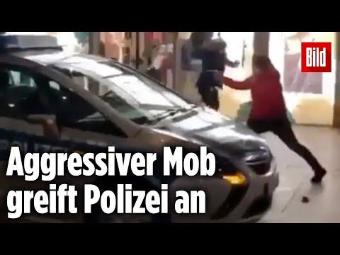 Gewalt-Eskalation in Frankfurt: 800 Randalierer greifen Polizisten an