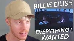 BILLIE EILISH EVERYTHING I WANTED VIDEO REACTION