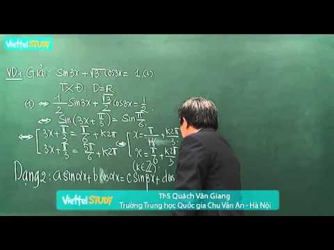 Phương pháp giải phương trình lượng giác  - kenhdaihoc.com