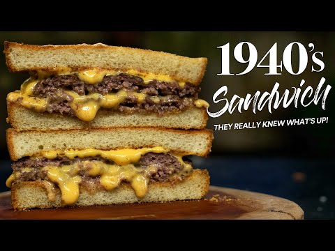 I made this 1940's ICONIC Sandwich and it's FIRE!