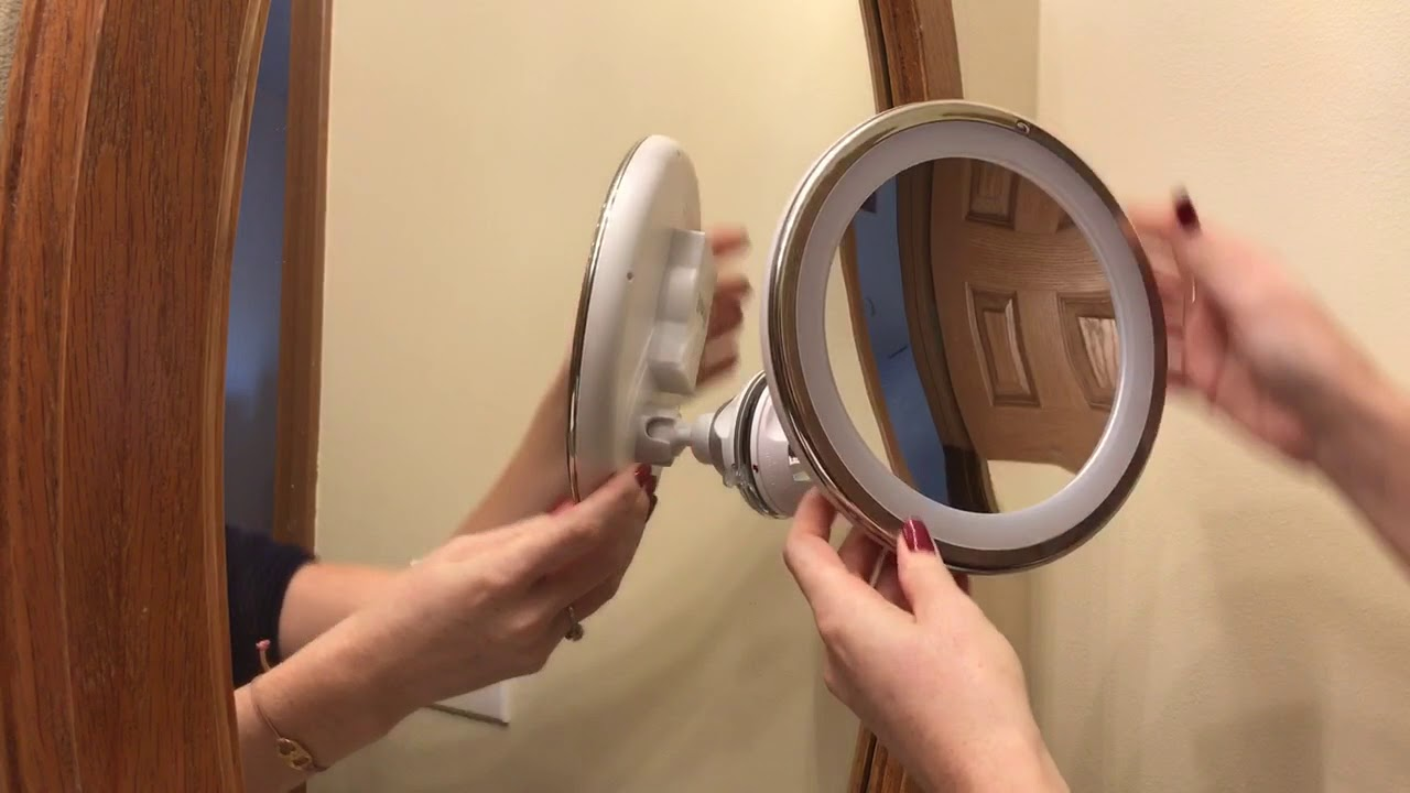 the latest 24724 a6b68 How to Use Your Fancii Magnifying Suction Mirror - 3 Simple Steps