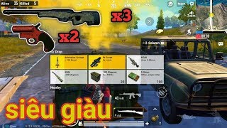 PUBG Mobile - Thêm 1 Trận Đấu Cực Nhiều AWM Và Flaregun | Combo Hủy Diệt Map Trong Tay