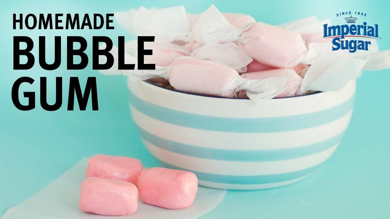 How To Make Homemade Bubble Gum You
