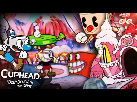 THE DIFFICULTY IS REAL!!    Cuphead CO-OP (Part 3)