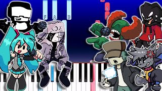 Top 10 Friday Night Funkin Songs On Piano