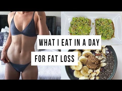 What I Eat In A Day For FAT LOSS | Healthy & Easy!