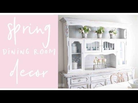 Spring Farmhouse Dining Room Tour