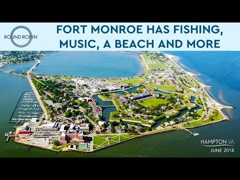 Fishing, Music, And A Beach: Fort Monroe Has All This And More